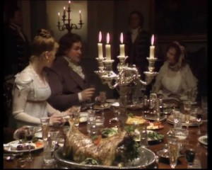 Mansfield Park 1983 - Bertram supper party 1