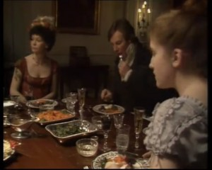 Mansfield Park 1983 - Bertram supper party2
