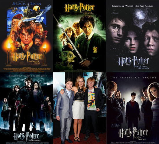 Franchise ranking the harry potter movies the rush log for What was the name of that movie