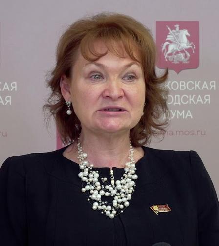 Депутат Мосгорднумы и член партии Единая Россия Людмила Стебенкова