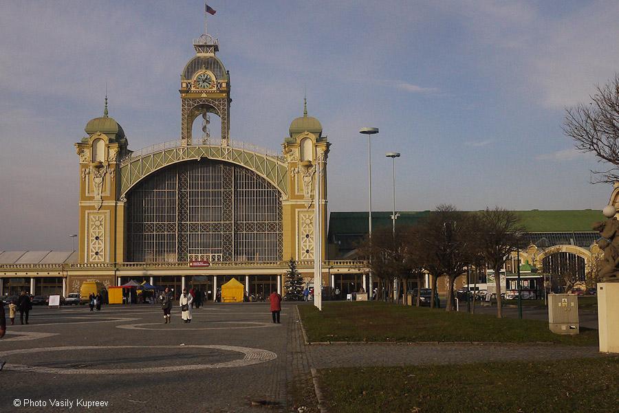 Рождественский рынок в Праге.