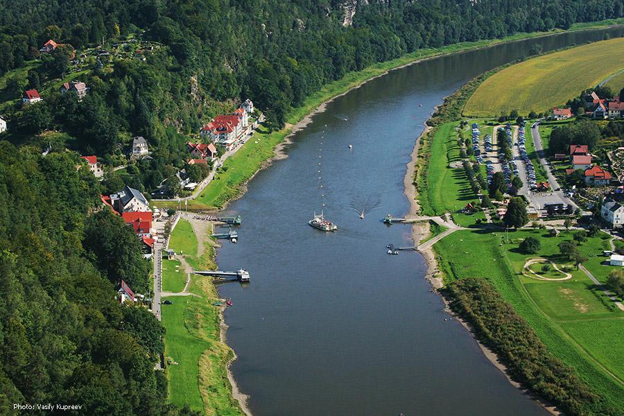 Саксонская Швейцария. Rathen.
