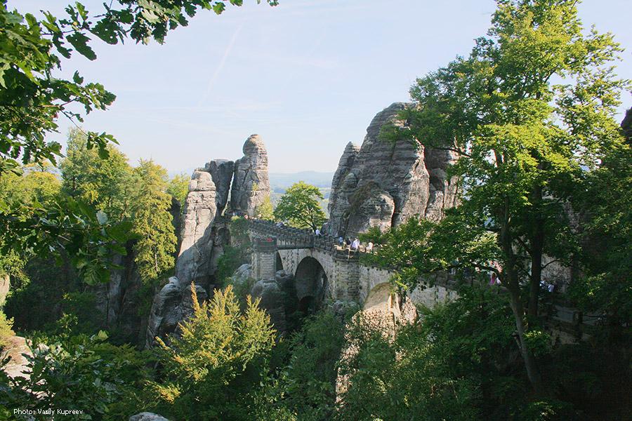 Саксонская Швейцария. Bastei