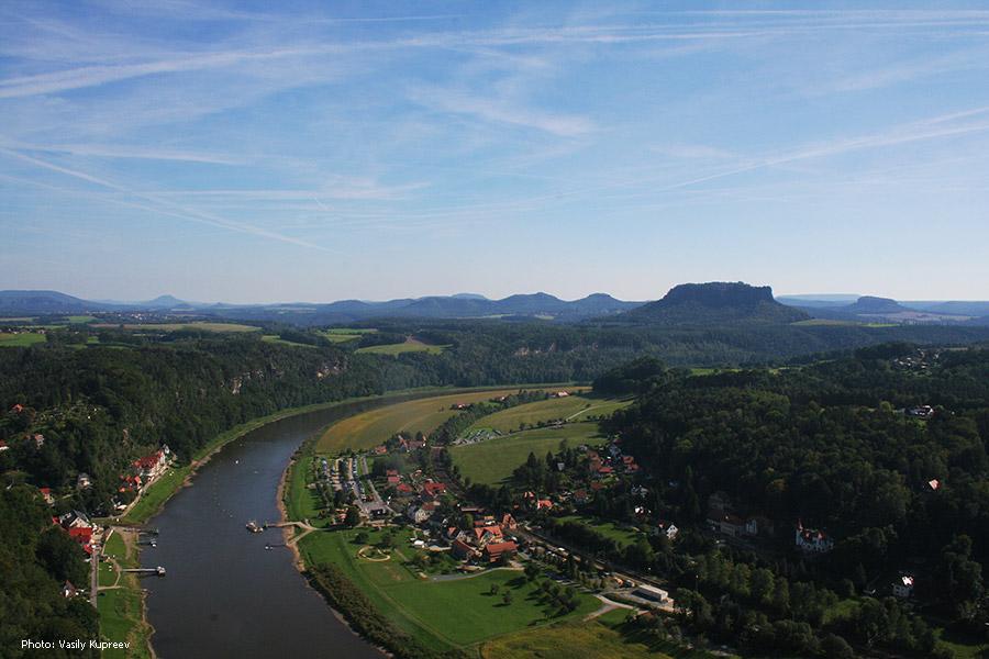 Саксонская Швейцария. Kurort Rathen.