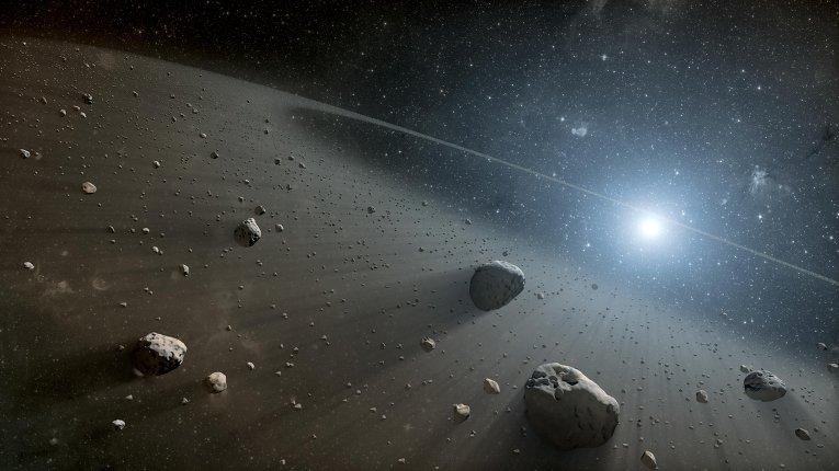 Потенциальная и кинетическая энергия астероидов – новый источник энергии КА-накопителей воздуха