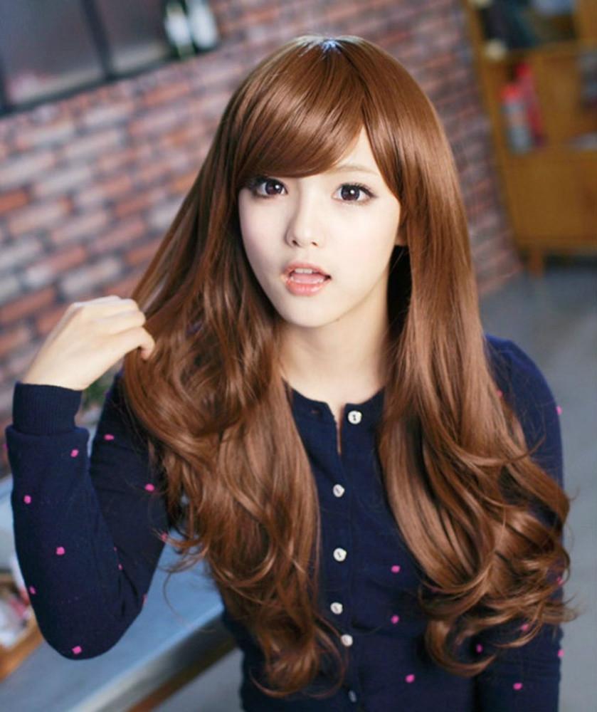 Корейские прически девушек фото