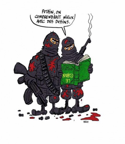 Новая обложка «Charlie Hebdo» 706439-dessin-pour-charlie