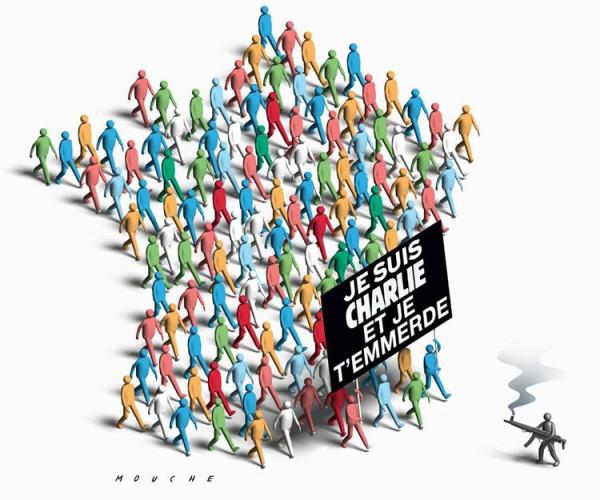 Новая обложка «Charlie Hebdo» 706866-dessin-pour-charlie