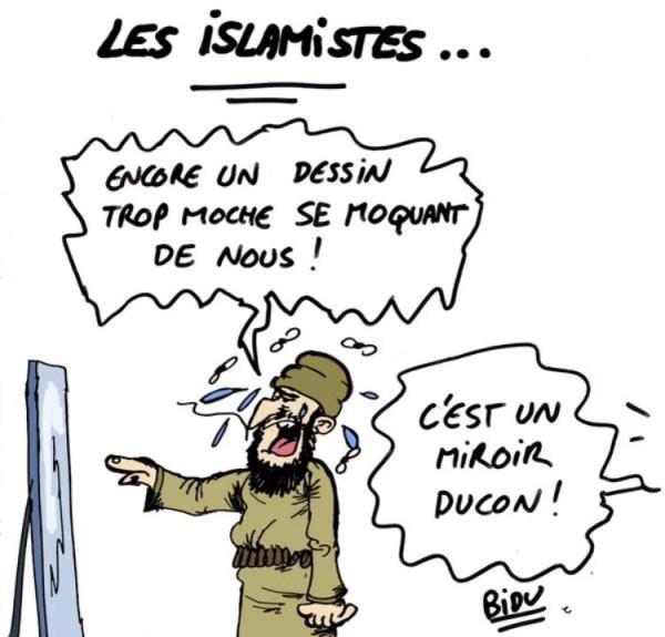 Новая обложка «Charlie Hebdo» 706626-dessin-pour-charlie