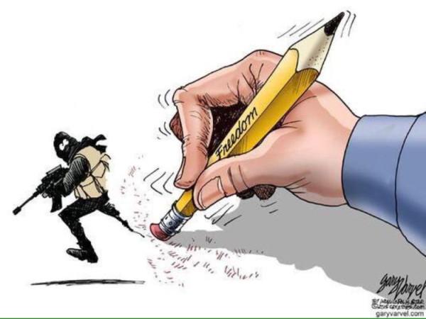 Новая обложка «Charlie Hebdo» 706575-dessin-pour-charlie