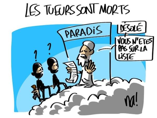Новая обложка «Charlie Hebdo» 706436-dessin-pour-charlie