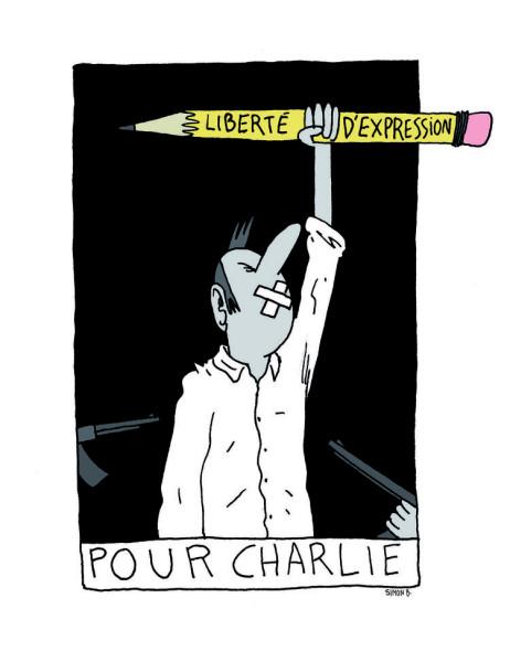 Новая обложка «Charlie Hebdo» 706214-dessin-pour-charlie