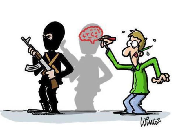 Новая обложка «Charlie Hebdo» 706251-dessin-pour-charlie