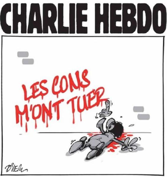Новая обложка «Charlie Hebdo» 706158-dessin-pour-charlie
