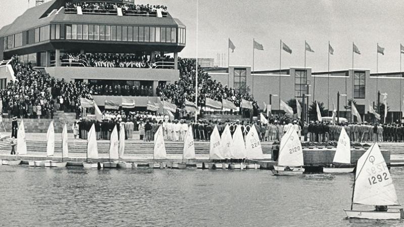 Таллинский центр парусного спорта принял у себя олимпийские соревнования по регате 1980 года