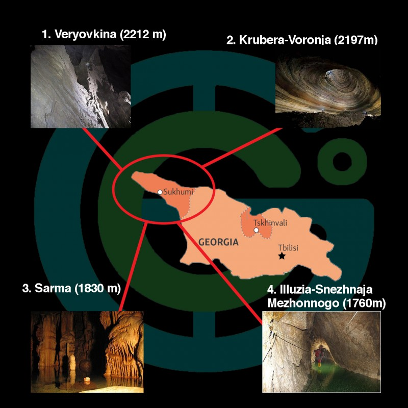 Самые глубокие пещеры Земли