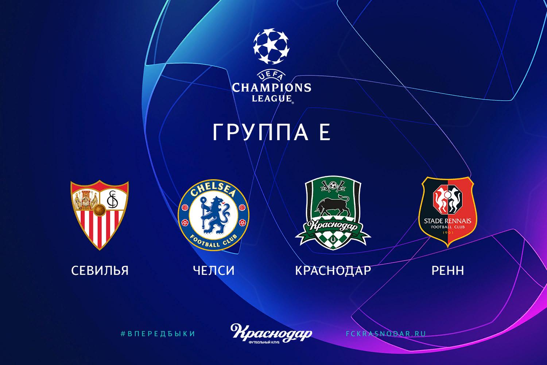 Лига Чемпионов 2020/2021. Группа Е