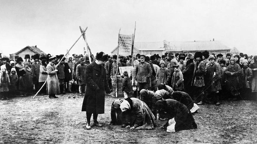 Пик крестьянского сопротивления пришёлся на 1930-й год. Фото Diomedia
