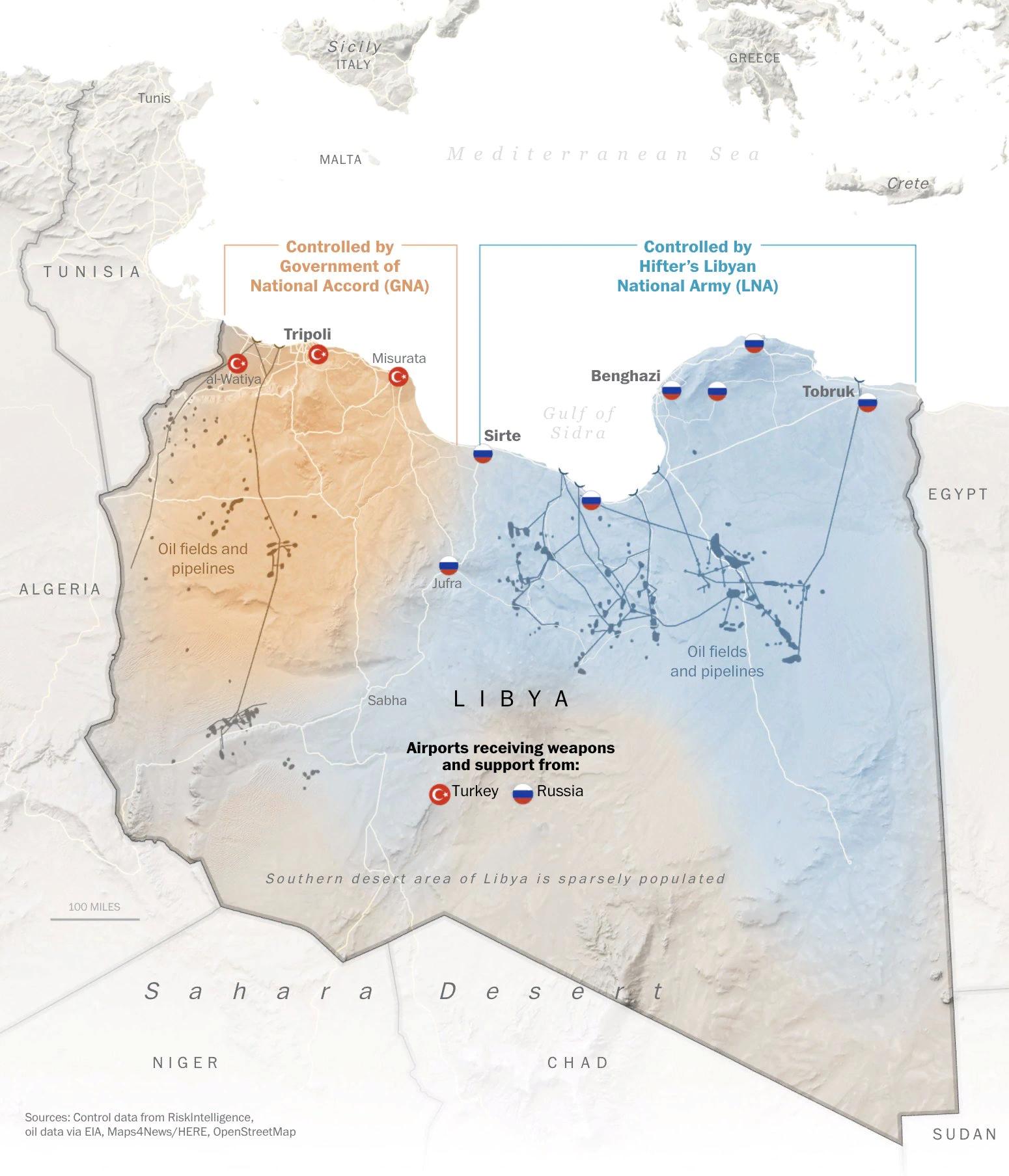 Внутриполитическая обстановка в Ливии на начало 2021 года