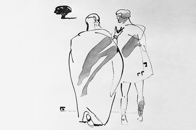 рисунок Павла Бунина