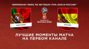 Обзор матча Португалия ─ Испания