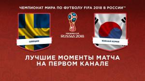 Обзор матча Швеция ─ Южная Корея