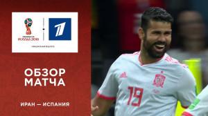Обзор матча Иран ─ Испания
