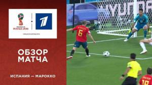 Обзор матча Испания ─ Марокко