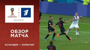 Обзор матча Исландия ─ Хорватия