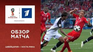 Обзор матча Швейцария ─ Коста-Рика