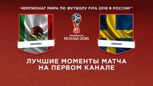Обзор матча Мексика ─ Швеция