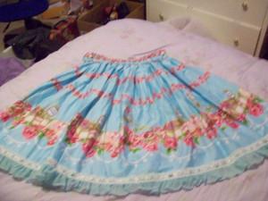 love jewelry skirt