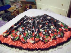 chocoberry skirt
