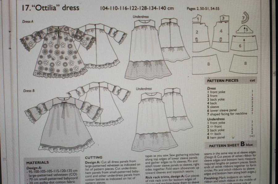 Выкройки платьев в стиле бохо для кукол