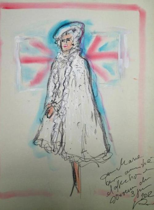 Queen-Elizabeth-II-by-Karl-Lagerfeld.1