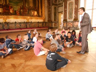 classe au chateau