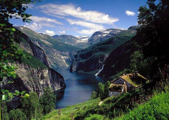 Описание: Norwegian fjords