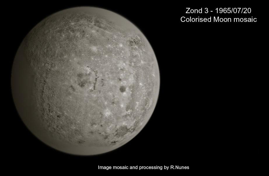 компиляция из снимков с АМС Зонд-3