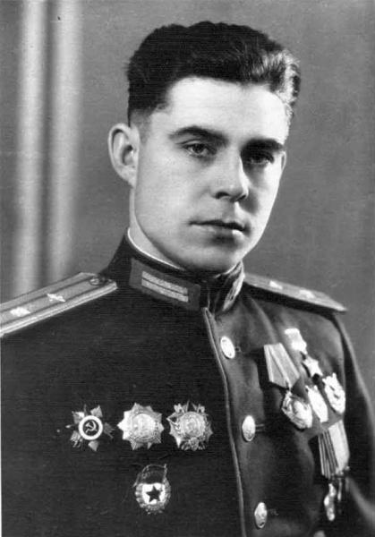 Береговой Георгий Тимофеевич, фото 1945 года