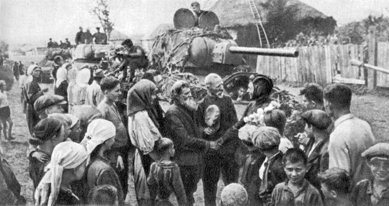Харьковская область, 1943 год