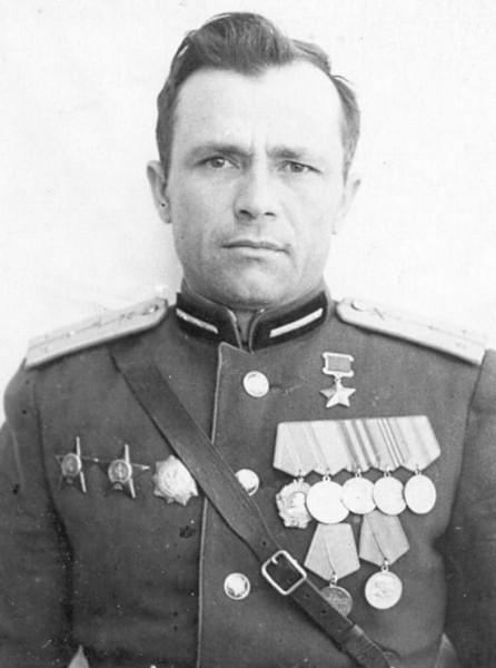 Герой Советского Союза Мазур Трифон Григорьевич