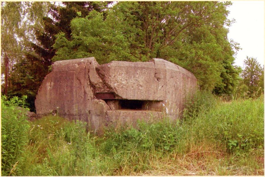 ДОС в районе Хмельника (Летичевский укрепрайон)