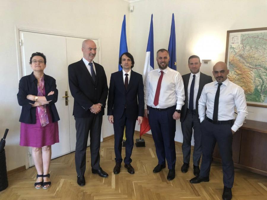 Посол Франции в Украине Етьен де Понсен, А. В. Лось, М. Найем и прочие «соросята»