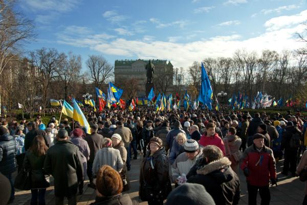 Возле университета возле Шевченко