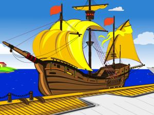 3 локации корабля