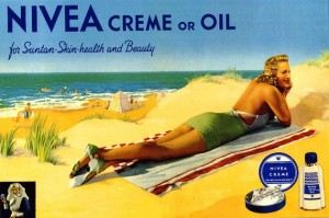 NIVEA-advertisement-poster-UK-1939-Beiersdorf