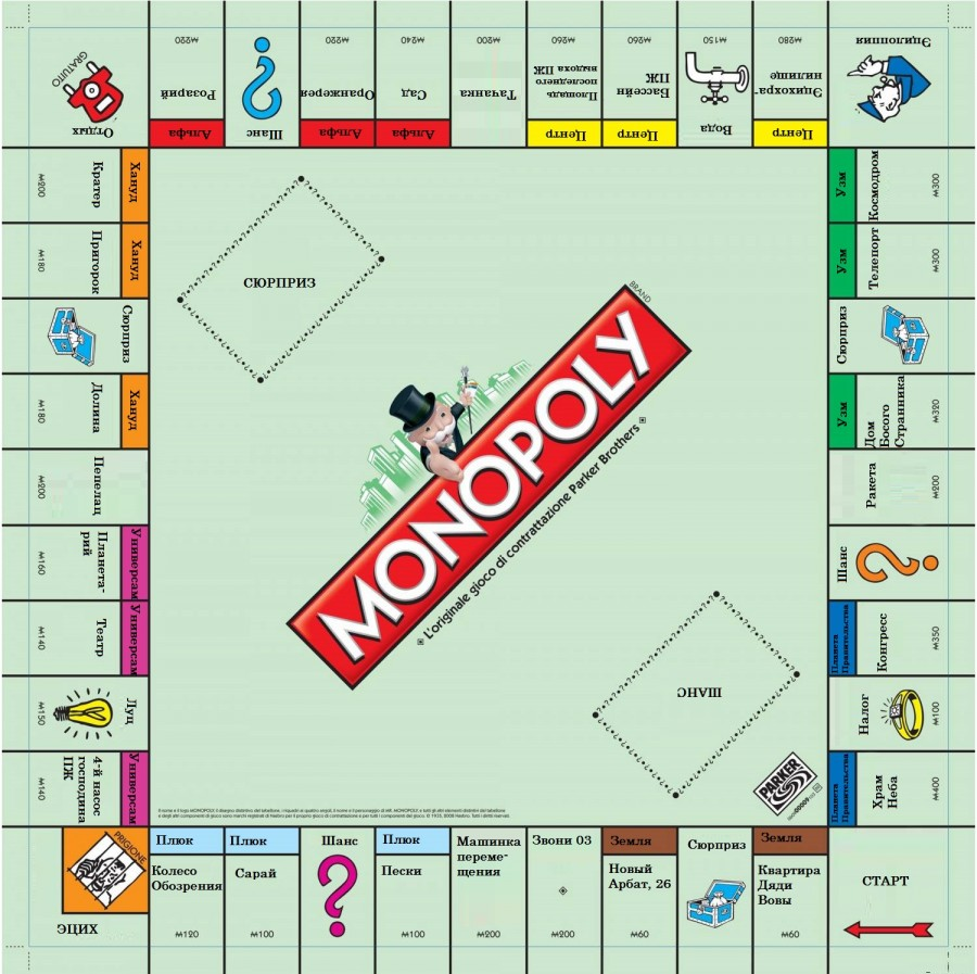 «Монополия» своими руками 52