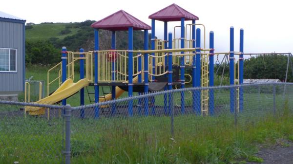 Детская площадка - такие же есть и в Рязани