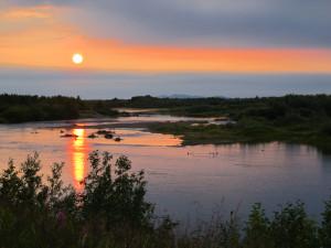 Аляскинский закат