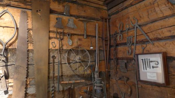 В музее Баранова